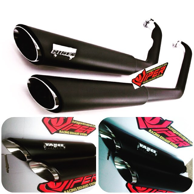 SlipOn Vance&Hines untuk Moge Harley Davidson type Sportster @ knalpotharley.com