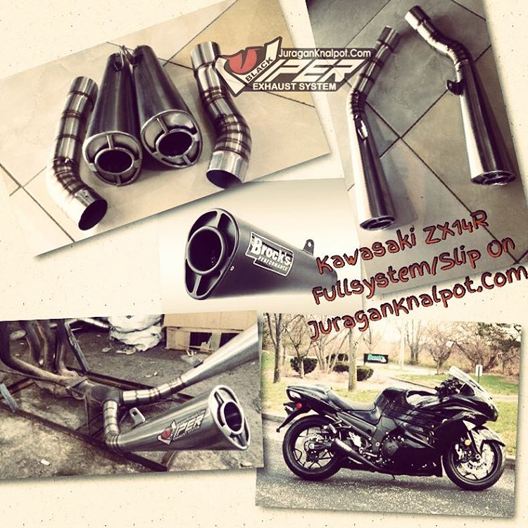 Exhaust Fullsystem, Downpipes, SlipOn/Midpipes for Kawasaki ZX14R @ knalpotharley.com