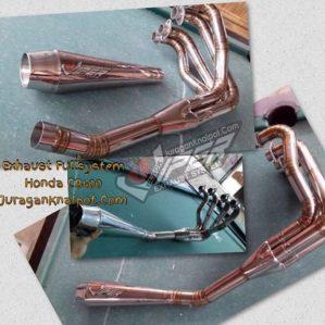 Exhaust Fullsystem Honda CB400 Model Caferacer