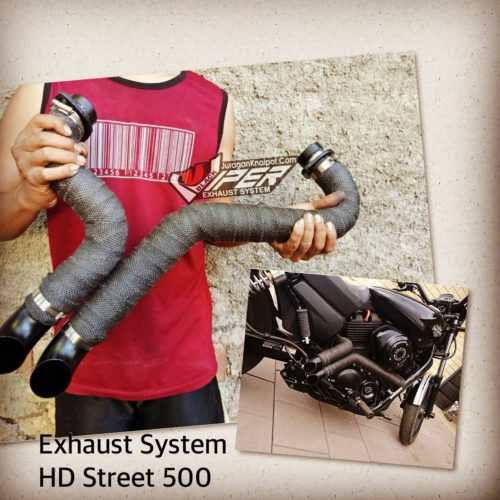 Knalpot Harley-Davidson Street500 Fullsystem